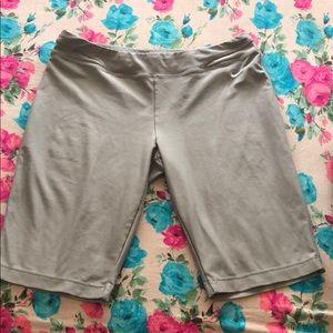 Gray Nike shorts